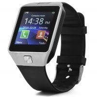 Smart Watch DZ09 Silver­