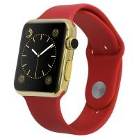 Smart Watch IWO 2 Golden Red­
