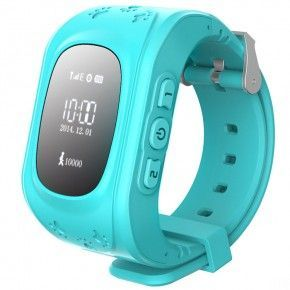 Smart Baby Watch Q50 Blue­