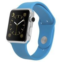 Smart Watch IWO 2 Silver Aqua­